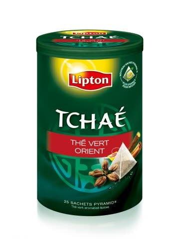 Lipton Tchaé Thé Vert Orient Sachets 25 Pyramides -