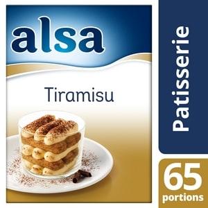 Alsa Crème pour Tiramisu 490g 65 portions - Faites de chaque jour un régal avec les Pots de Crème Alsa !