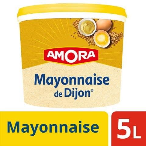 Amora Mayonnaise de Dijon Seau 5L -