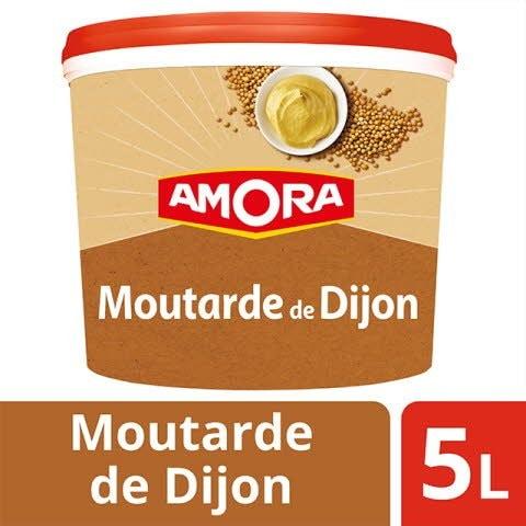 Amora Moutarde de Dijon seau 5Kg -