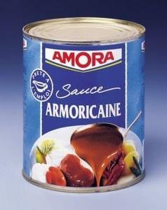 Amora Sauce Armoricaine boîte de conserve 800g -