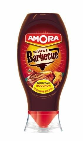 Amora Sauce Barbecue - Flacon Souple 490 g -