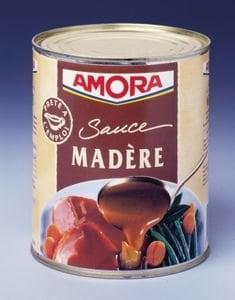 Amora Sauce Madère  boîte de conserve 800g -