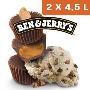 Ben & Jerry's Bac Peanut Butter  - 2 x 4,5L -