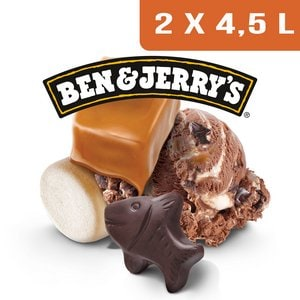 Ben & Jerry's Bac Phish Food - 2 x 4,5L -