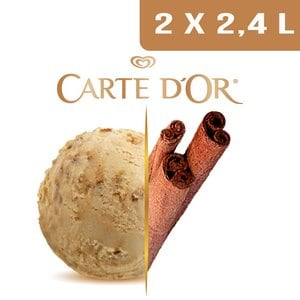 Carte d'Or Crème glacée Cannelle - 2,4 L -
