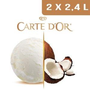 Carte d'Or Crème glacée Noix de Coco - 2,4 L -