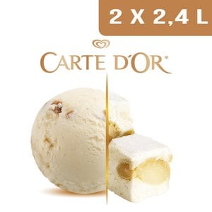 Carte d'Or Crème glacée Nougat - 2,4 L -