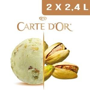 Carte d'Or Crème glacée Pistache - 2,4 L -