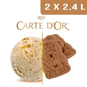 Carte d'Or Crème glacée Speculoos - 2,4 L -