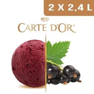 Carte d'Or Sorbets plein fruit Cassis - 2,4 L  -