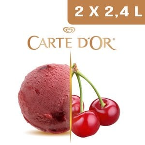 Carte d'Or Sorbets plein fruit Cerise - 2,4 L  -