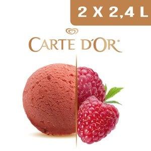 Carte d'Or Sorbets plein fruit Framboise - 2,4 L -