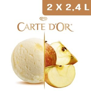 Carte d'Or Sorbets plein fruit Pomme - 2,4 L  -