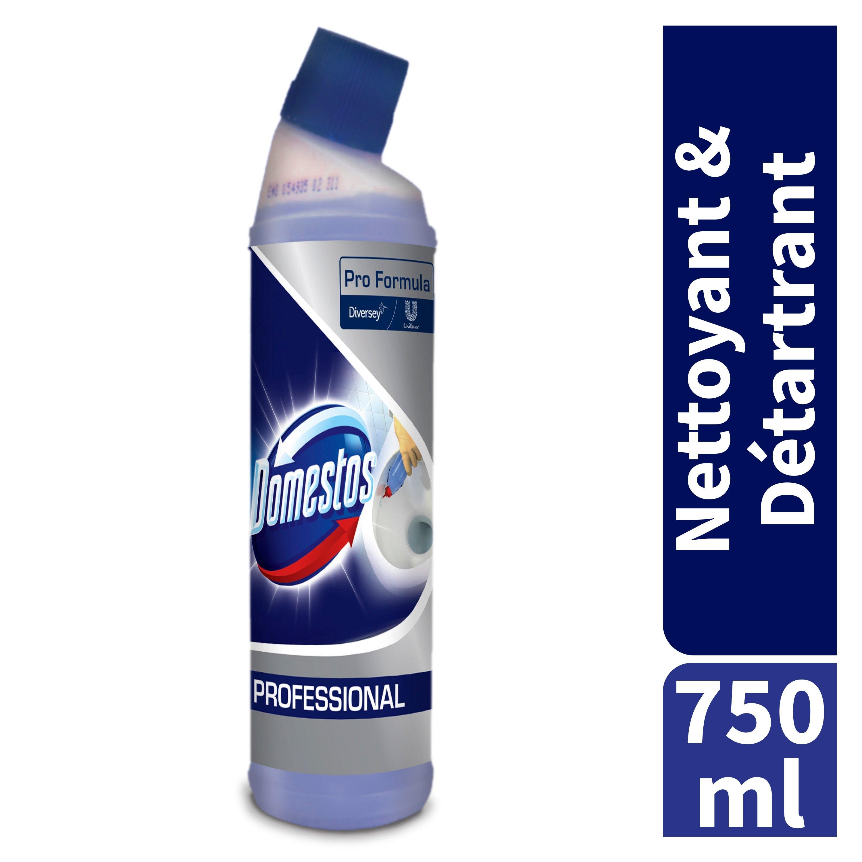 Domestos Professionnel Nettoyant et Détartrant 6x750ml -