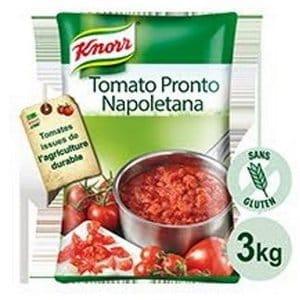 Une Knorr Collezione Italiana Sauce Napoletana Poche 3 KG offerte ! -
