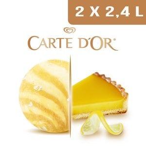 Carte d'Or Création glacée Délice façon Tarte au Citron - 2,4 L -