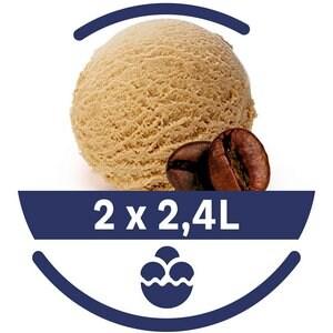 Mon Petit Glacier Bac Café Arabica du Brésil - 2 x 2,4 L -
