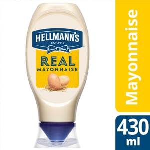 Hellmann's Real Mayonnaise flacon souple 430ml -