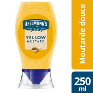 Hellmann's Yellow mustard flacon souple 260g -