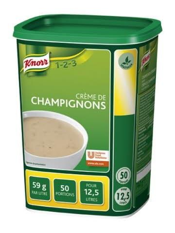Knorr 1-2-3 Crème de Champignons -