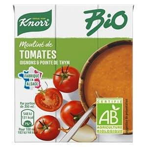 Knorr Bio Mouliné de tomates oignons et pointe d'herbes 30cl -