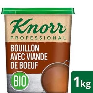 Knorr Bouillon BIO avec viande de boeuf 1kg -