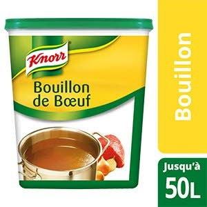 Knorr Bouillon de Bœuf Déshydraté 1kg jusqu'à 50L -