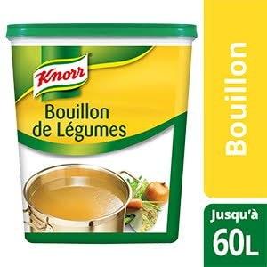 Knorr Bouillon de Légumes Déshydraté 1,2 Kg jusqu'à 60 L -