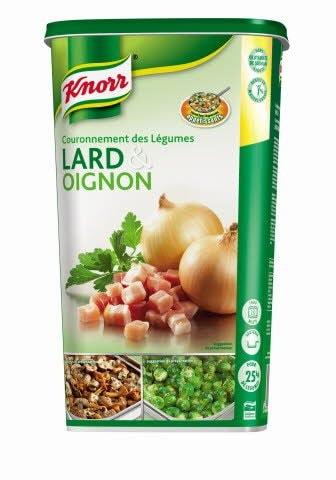 Knorr Couronnement des légumes Lard & Oignon Déshydraté 1kg -