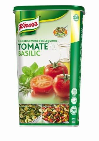 Knorr Couronnement des légumes Tomate & Basilic Déshydraté 1kg -