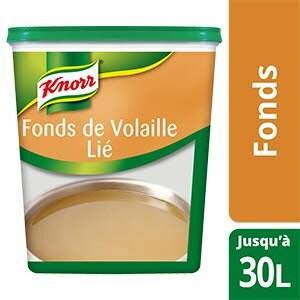 Knorr Fonds de Volaille Déshydraté 750g jusqu'à 30L -