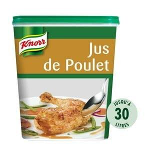 Knorr Jus de Poulet Déshydraté 750g Jusqu'à 30L -