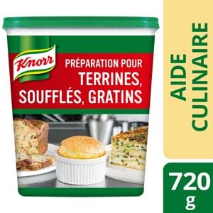 Knorr Préparation pour terrines, soufflés et gratins Déshydraté 720g - Redonner le plaisir de manger à mes résidents est pour moi une priorité.