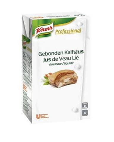 Knorr Professional Jus de veau lié liquide 1L -