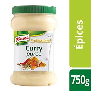Knorr Professional Purée de curry pot 750g - Des recettes développées en partenariat avec le chef étoilé Bruno Oger, pour vous donner la garantie du meilleur goût.