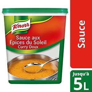 Knorr Sauce aux épices du Soleil Déshydratée 1kg Jusqu'à 5L -