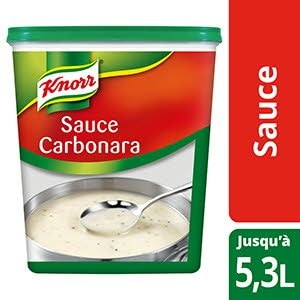 Knorr Sauce Carbonara Déshydratée 800g Jusqu'à 5,3L -