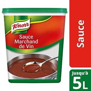 Knorr Sauce Marchand de Vin Déshydratée 850g jusqu'à 5L -