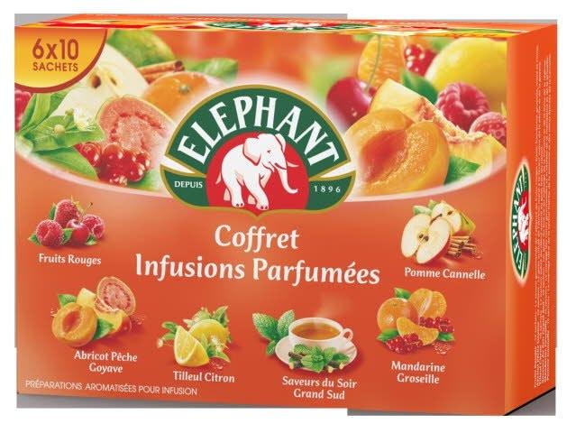 Elephant Coffret Infusions 50 Sachets Enveloppés -