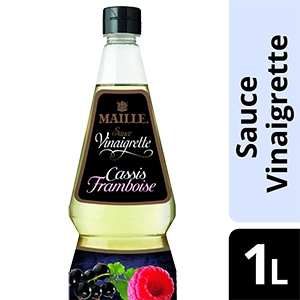 Maille Sauce Vinaigrette Cassis-Framboise 1L -
