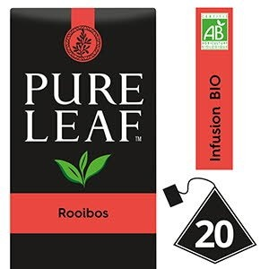 Pure Leaf BIO Infusion Rooïbos 20 sachets pyramides -