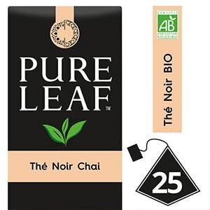 Pure Leaf BIO Thé Noir Chai 25 sachets pyramides -
