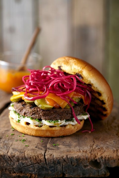 Burger au Boeuf Angus d'Aberdeen – Recette