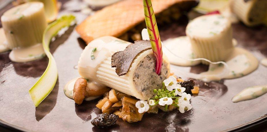 Cannelloni truffé, sauce Earl Grey ciboulette – Recette