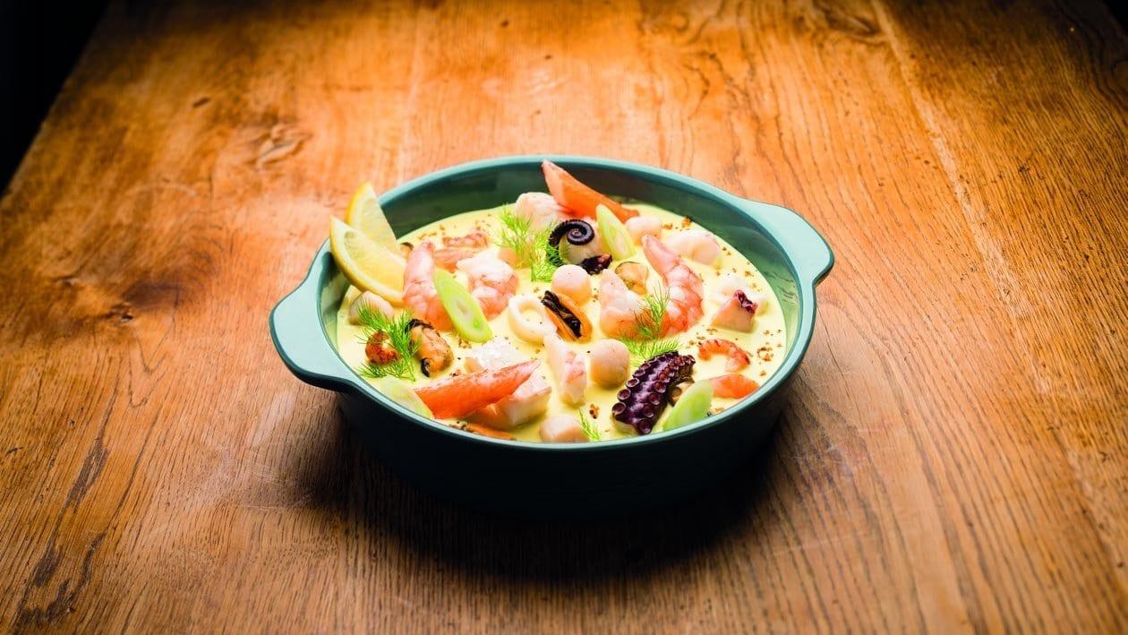 Cassolette de fruits de mer au curry ( Unikit ) – Recette