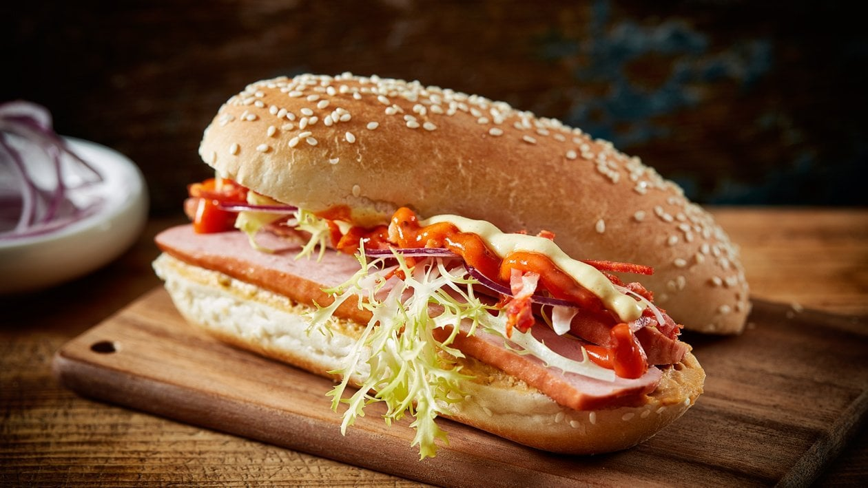 Hot Dog Oriental – Recette