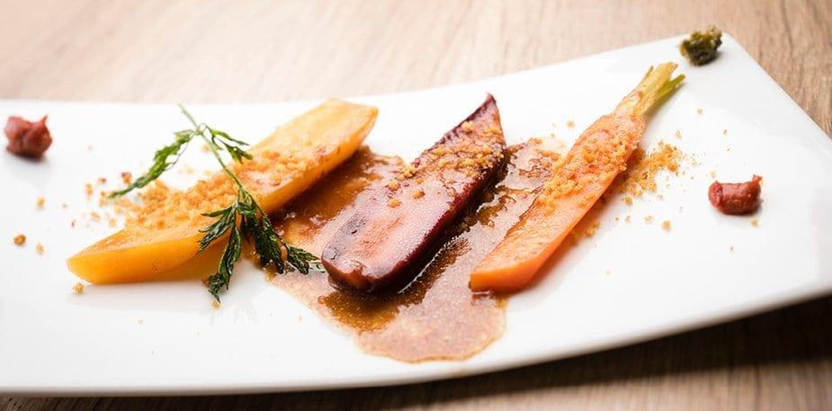 Meli mélo de carotte fane au pain d'épice – Recette