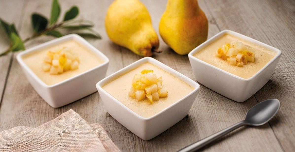 Pot de crème caramel Bio façon tatin – Recette
