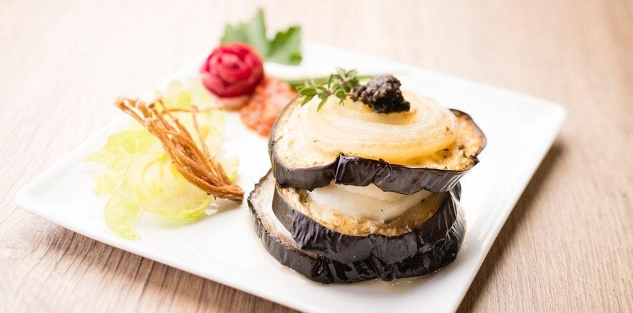 Tian de légumes à l'aubergine, mozzarella et tomate – Recette